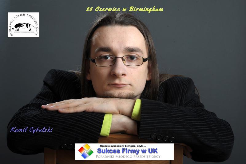 Kamil Cybulski w Birmingham